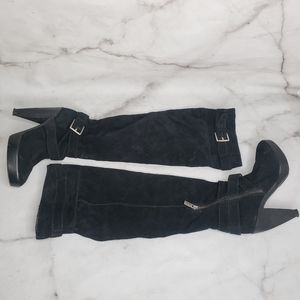 Michael Kors knee high heeled boots